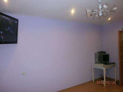 Ремонт в комнате ламинат выравнивание и покраска стен