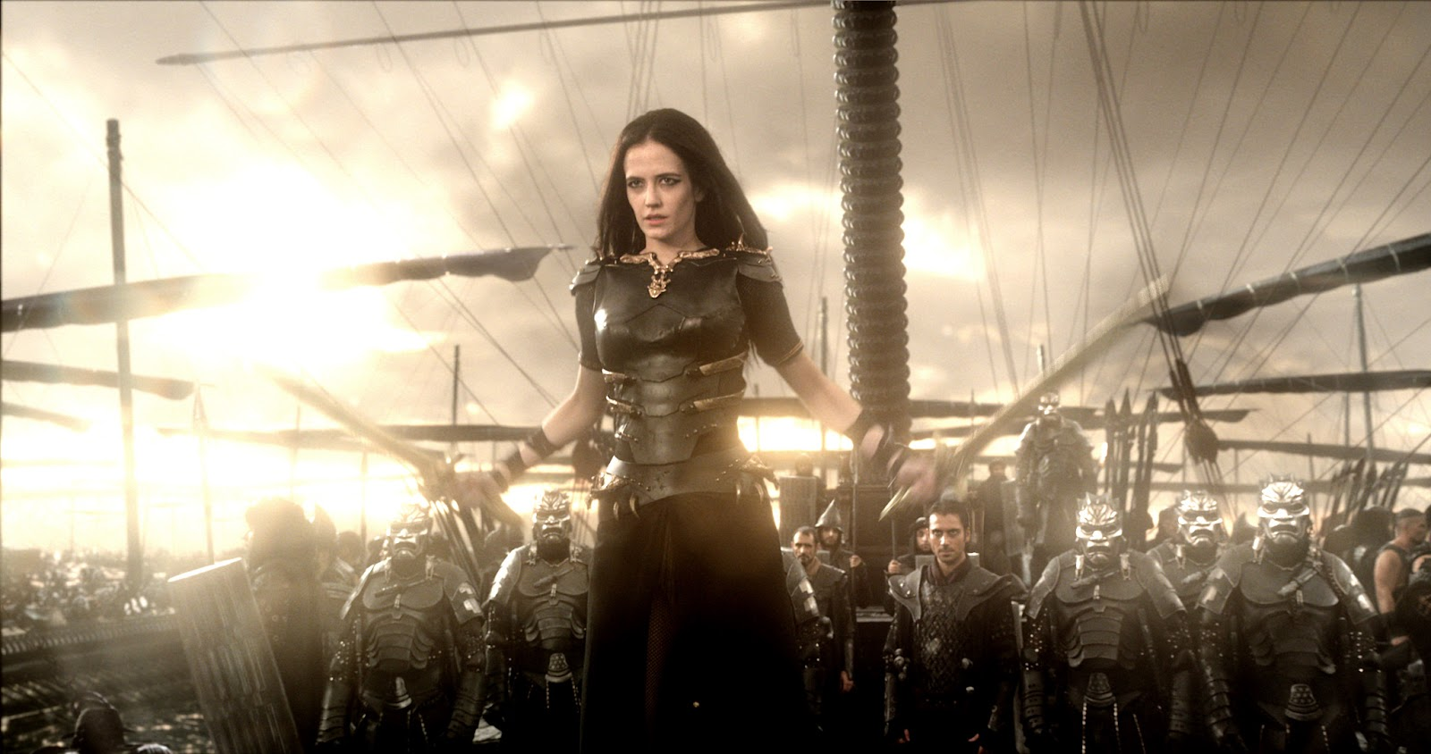 300: Rise of an Empire Eva Green as Artemisia ZOOM