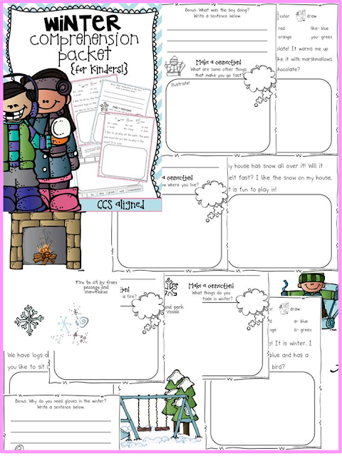http://www.teacherspayteachers.com/Product/Winter-Comprehension-for-Kinders-1000724