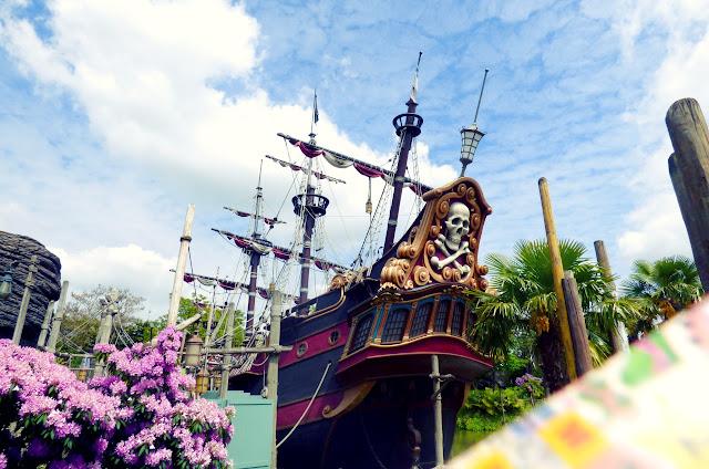 bateau des pirates