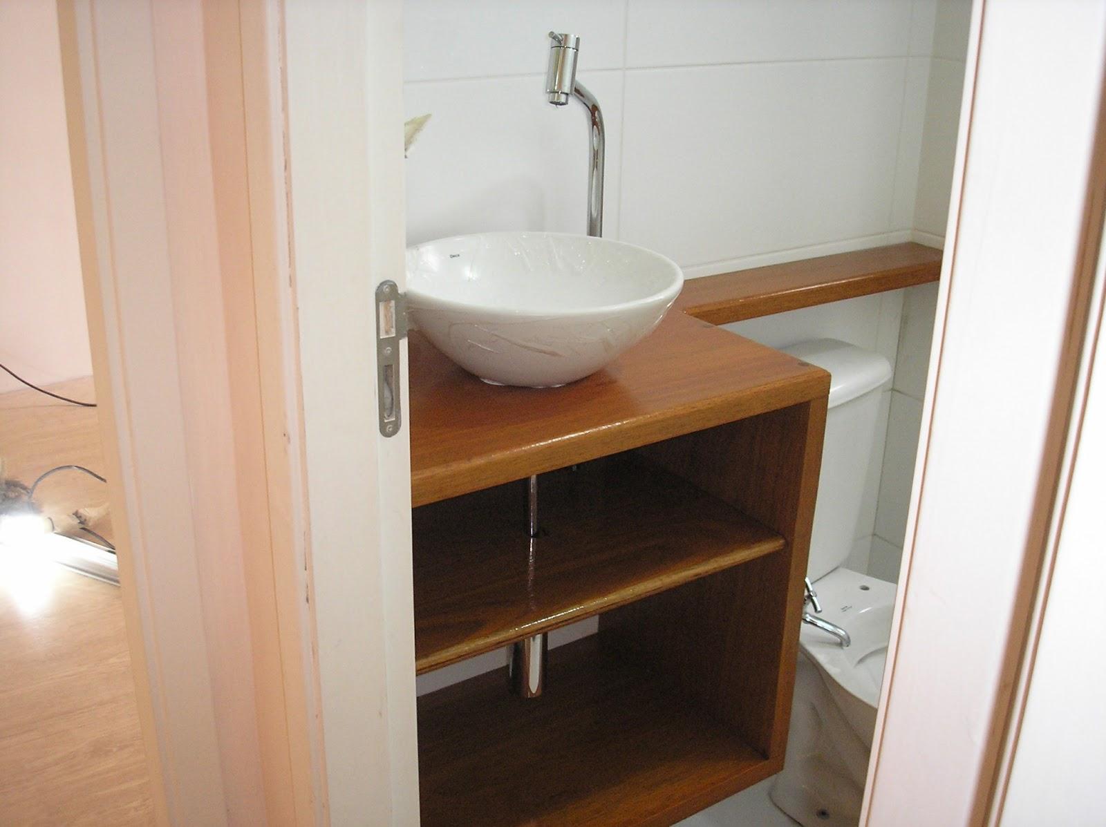 amigos de pêlo móveis Pia em madeira maciça -> Armario De Banheiro Resistente A Agua