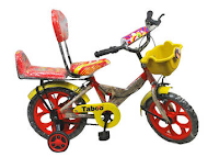 Buy Taboo Red And Yellow Kids Cycle at Rs 945 after cashback Via paytm :BUytoearn
