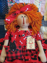 Scottie Dog Raggedy Ann
