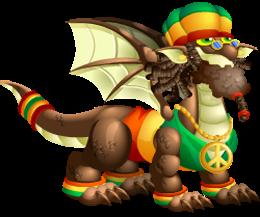 imagen del dragon jamaicano de dragon city