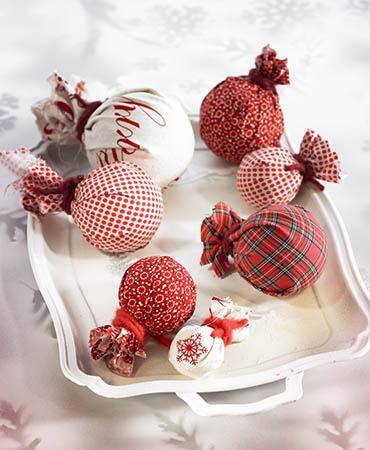 Tul chocolate for Ideas de adornos navidenos faciles