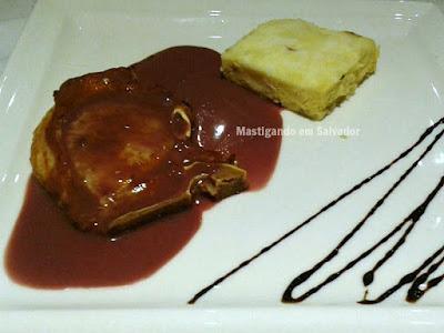 Zank by Toque Hotel na Salvador Restaurant Week 2015: Bisteca Suína com Rosti de Batata Doce