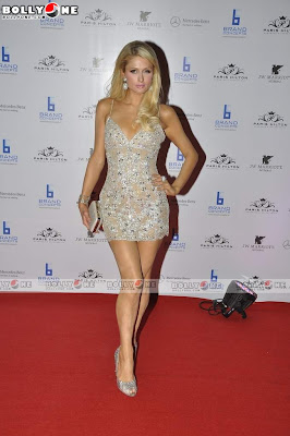 Paris Hilton In Mumbai - J.W. Marriot Bash