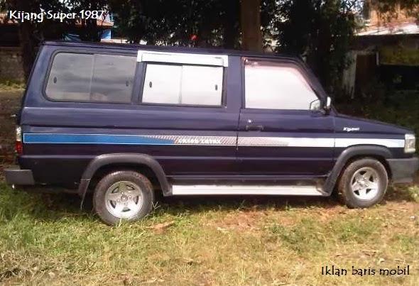 Dijual - Toyota kijang super 1987, Iklan Baris Mobil