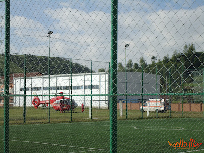 Elicopter SMURD la Toplita
