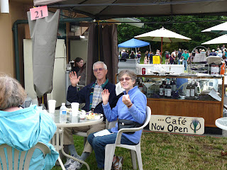 Sequim friends at Lavender Festival in the Park