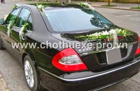 Cho thuê xe cưới Mercedes tại Đà Nẵng với giá thành ưu đãi