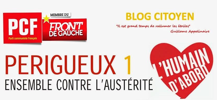 PERIGUEUX 1 : Ensemble contre l'Austérité