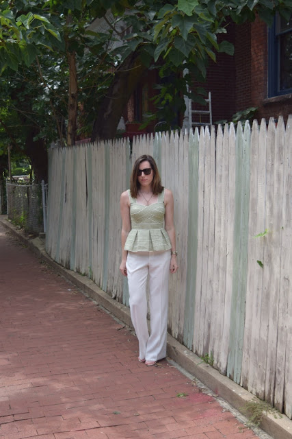 Peplum & Trousers