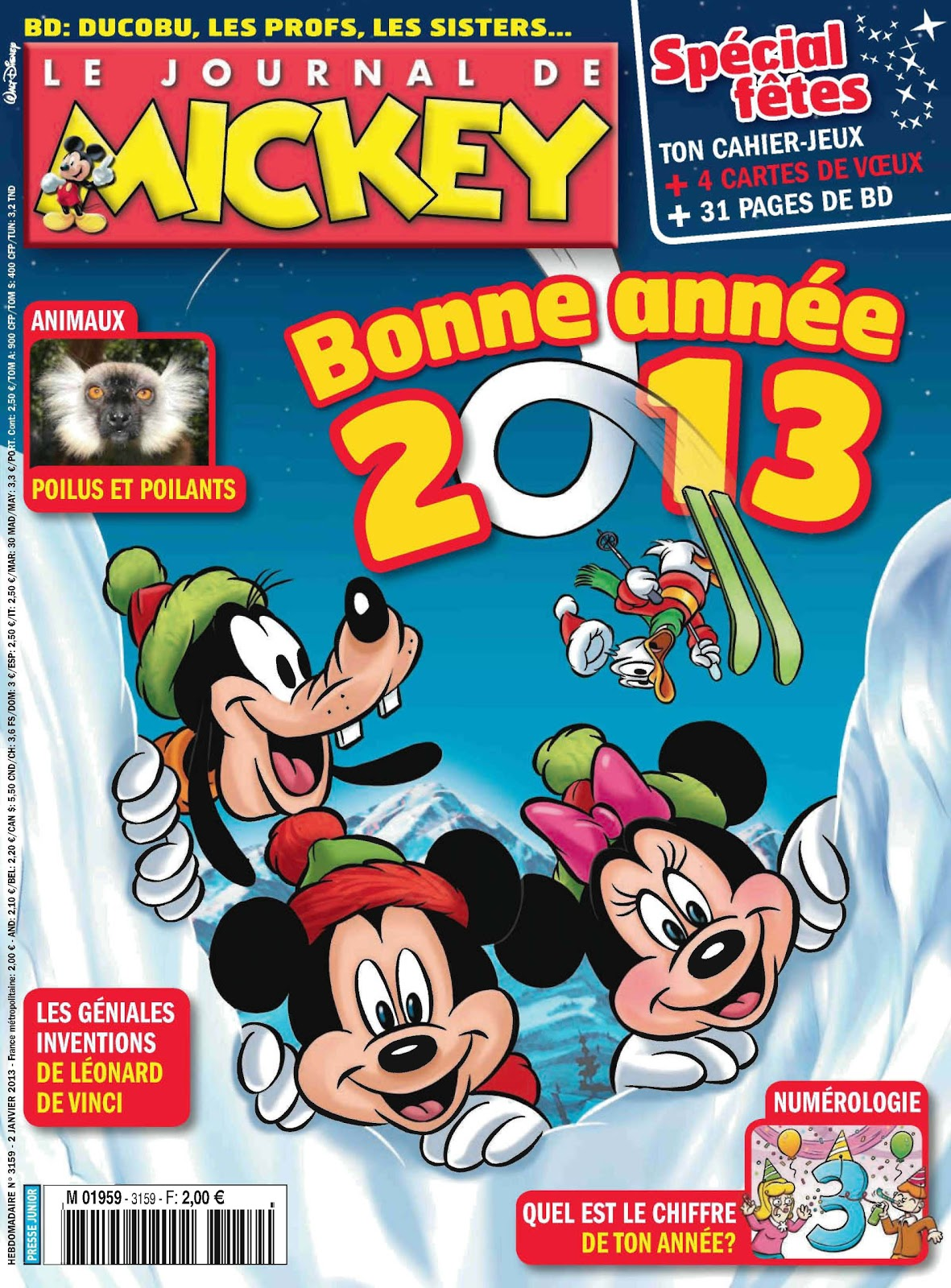 le journal de mickey journal de mickey 3159. Black Bedroom Furniture Sets. Home Design Ideas