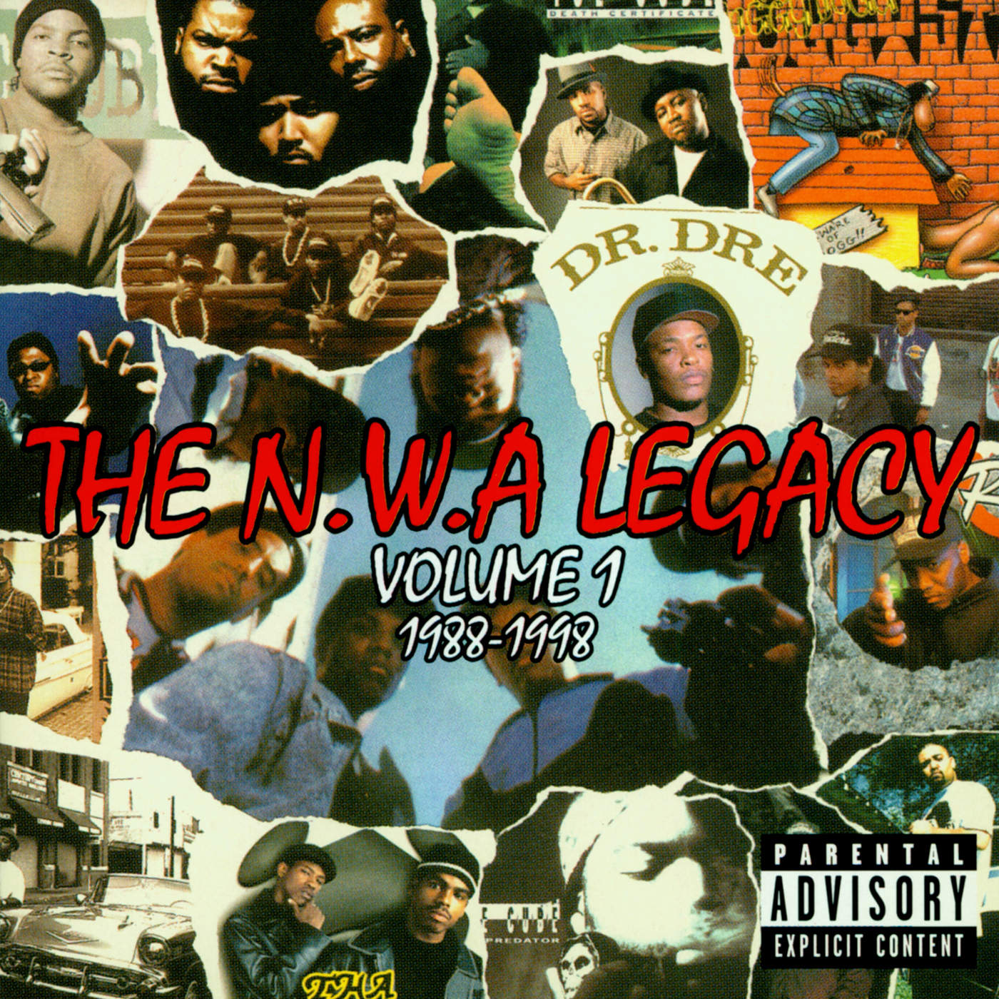 N.W.A. - N.W.A. Legacy Vol. 1: 1988-1998 (Explicit) Cover