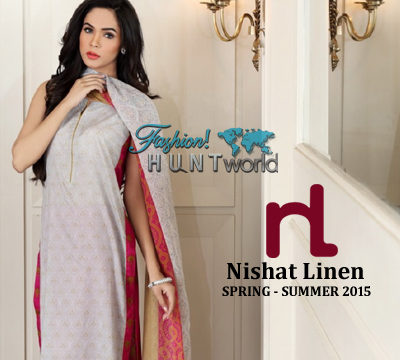 Nishat Linen - Spring Summer 2015 Collection With Prices