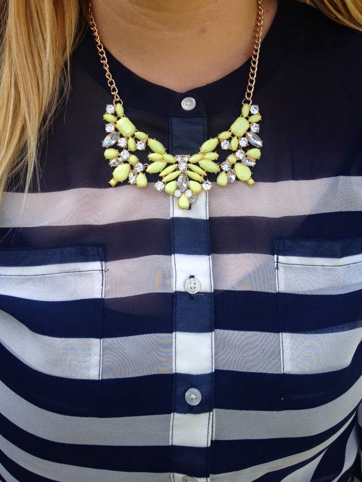 Old Navy Floral Necklace