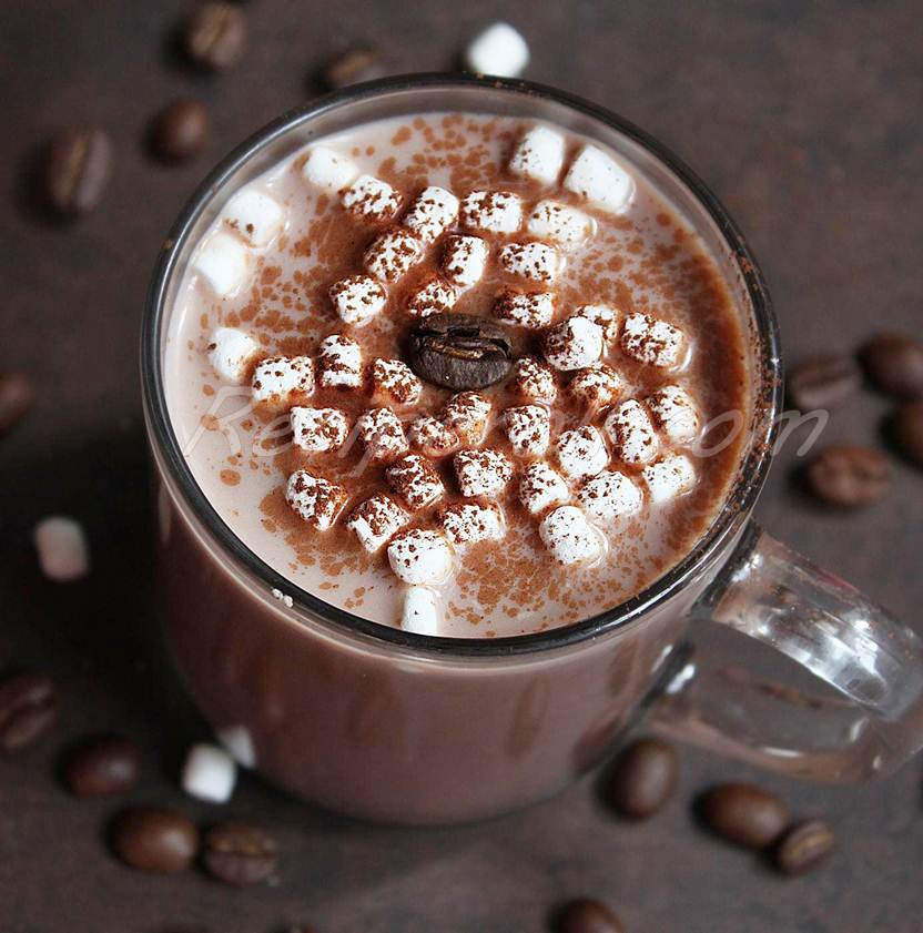 Easy Hot Chocolate / Hot Cocoa -Let it snow... ~ Sankeerthanam ...