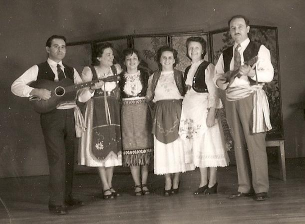 Serbian Folk Group, Columbus, Ohio (1940's)