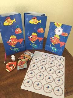 Finding Nemo Pre-School Birthday Favors