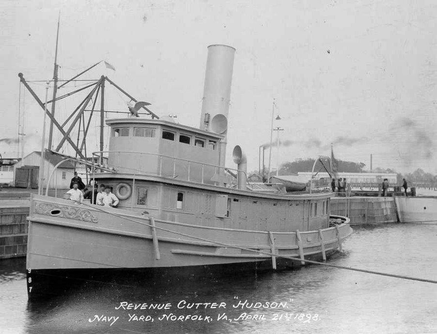 Image result for USRC Hudson 1898