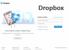 Dropbox - login