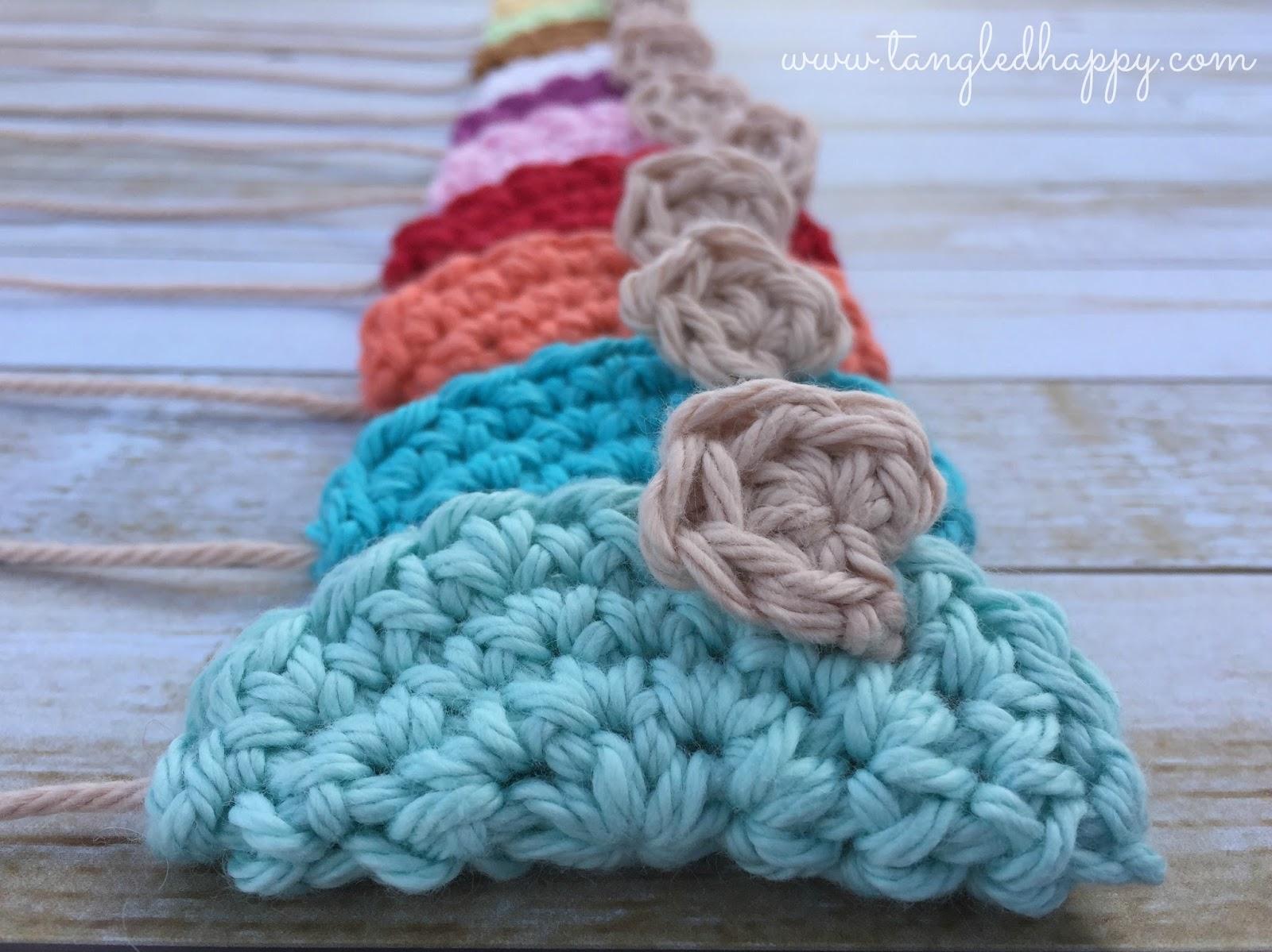 tangled happy: Crochet Mouse DIY Cat Toy {Free Crochet Pattern}
