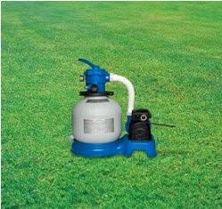 Tu piscina desmontable preparando la piscina la for Depuradora de arena para piscina