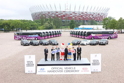 samochody do obsługi EURO 2012