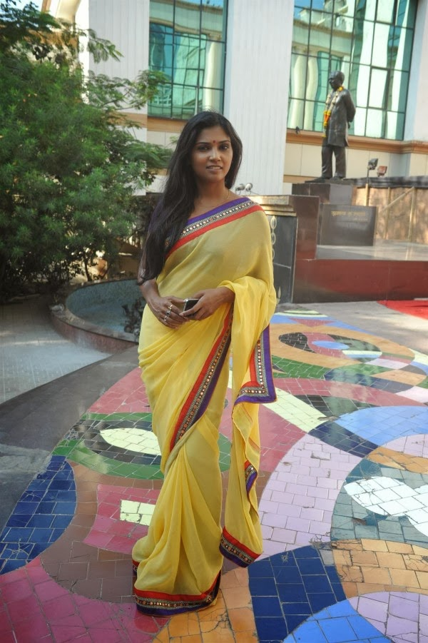 Actress Usha Jadhav