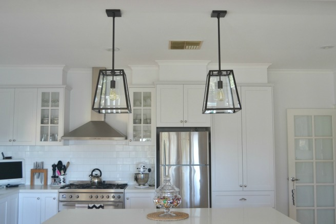 in the night sky the lighting new kitchen and bedroom pendants