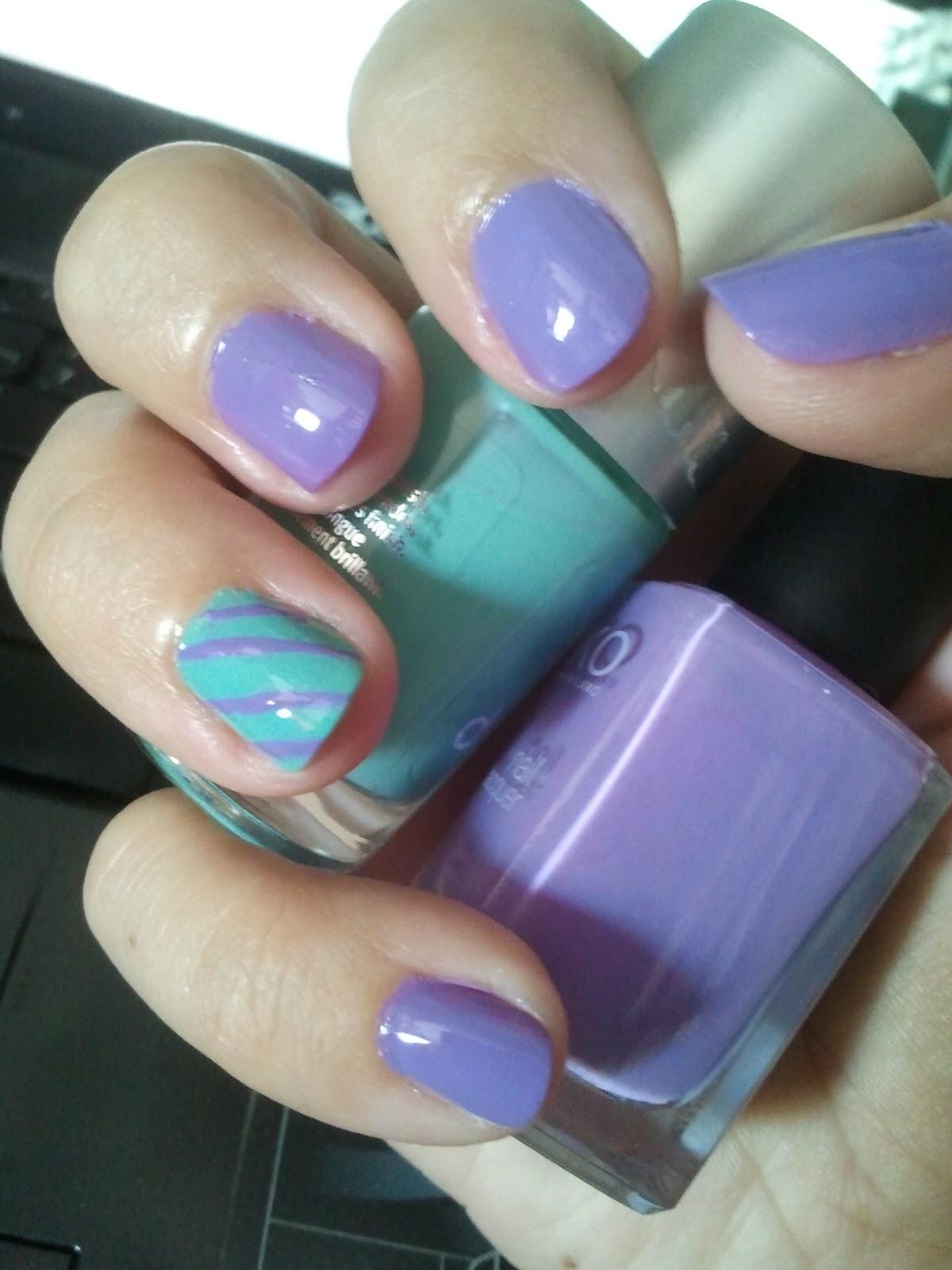This is my place: Combinación perfecta de colores en una manicura...