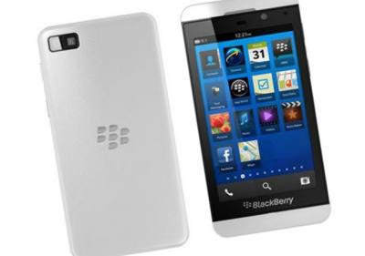 BlackBerry Z10 axis