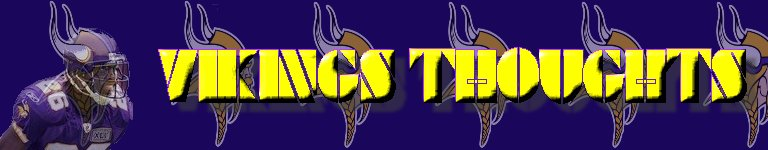Vikings Thoughts - A Minnesota Vikings Blog