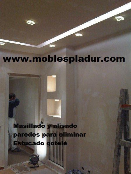 Pladur barcelona techo decorativo con iluminaci n - Falso techo decorativo ...