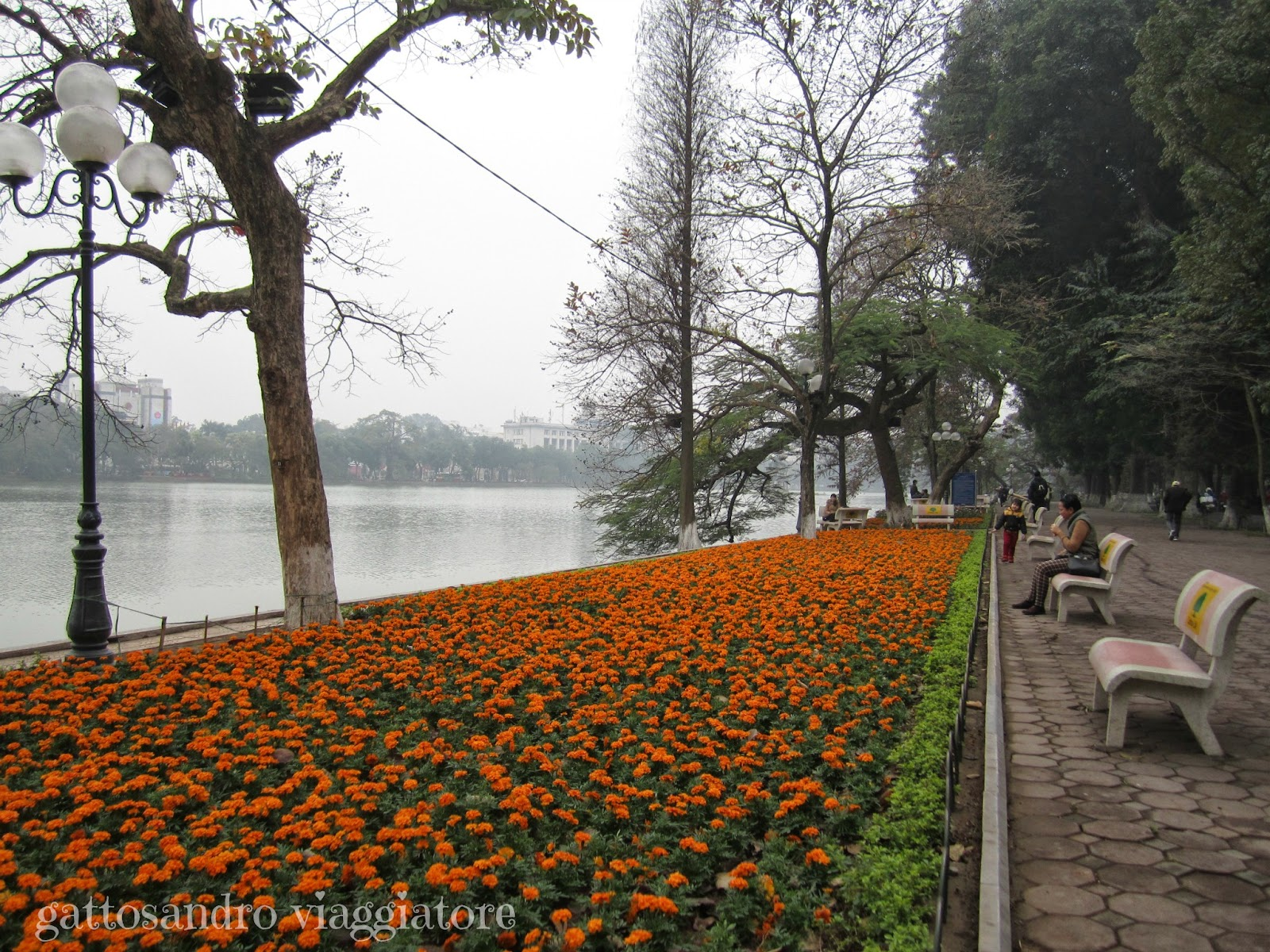 Hanoi  Lago Hoan Kiem