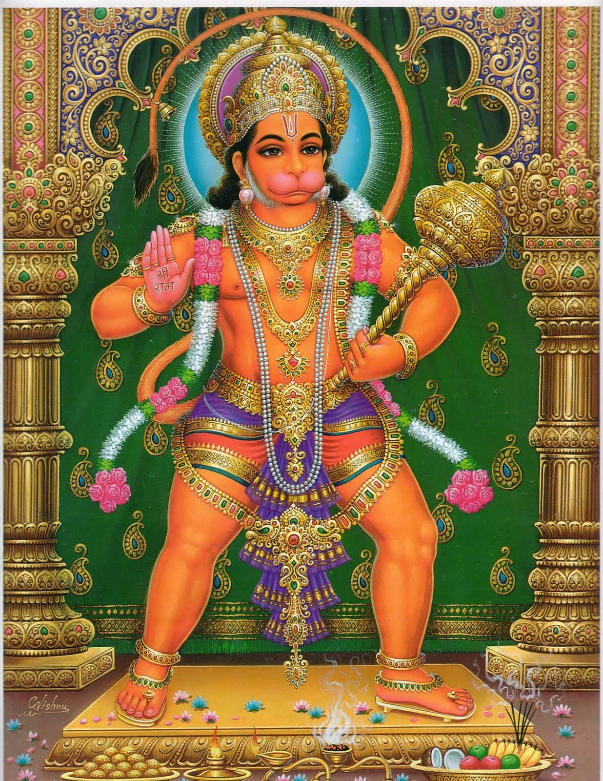 God Hanuman Ji Free HD Wallpapers of ...