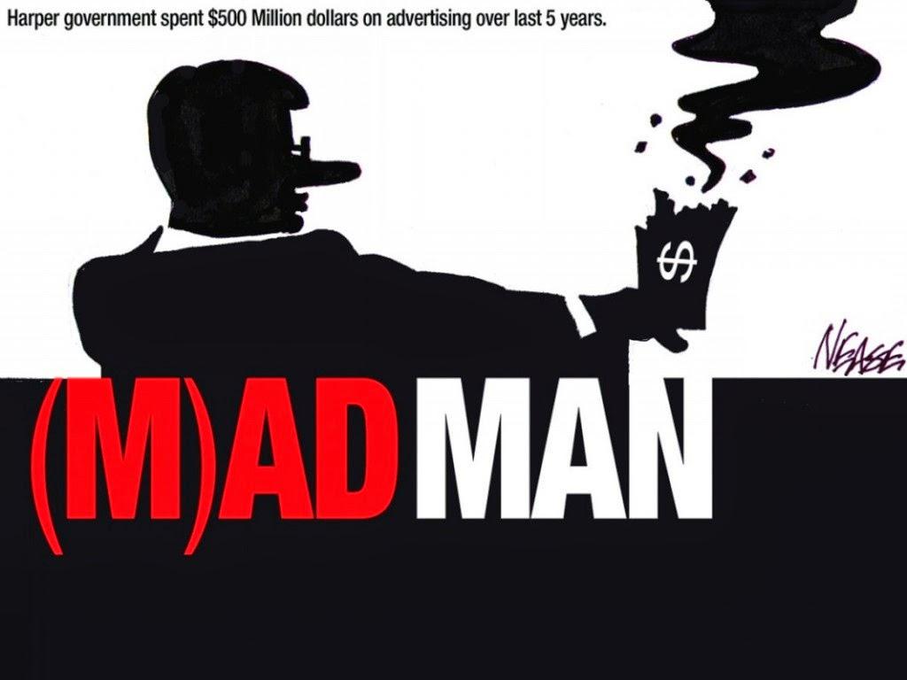 Steve Nease: Stephen Harper, (M)ad Man.