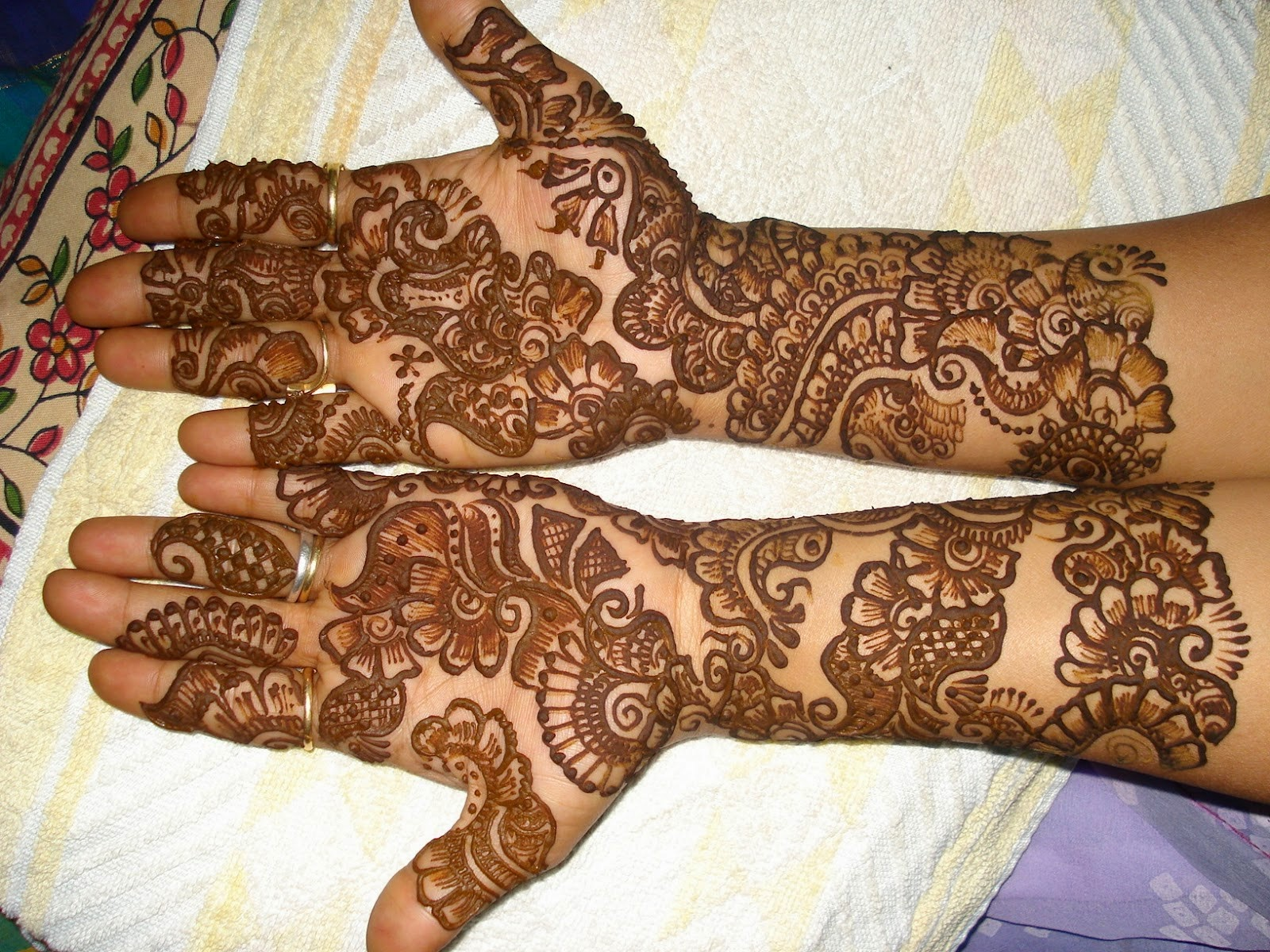 Simple Mehndi Step By Step : 32 cool latest simple mehndi designs for hands 2015