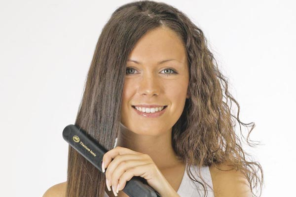 Как сделать свои волосы прямыми 457