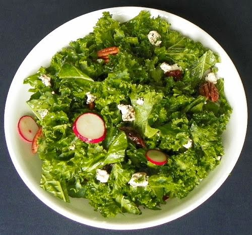 Are You Cooking?: Kale Salad with Cherries and Pecans