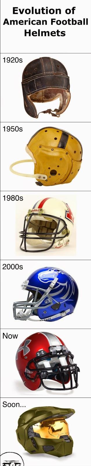 evolution of american football