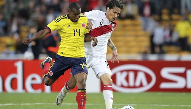 Ver partido Colombia vs Peru en vivo