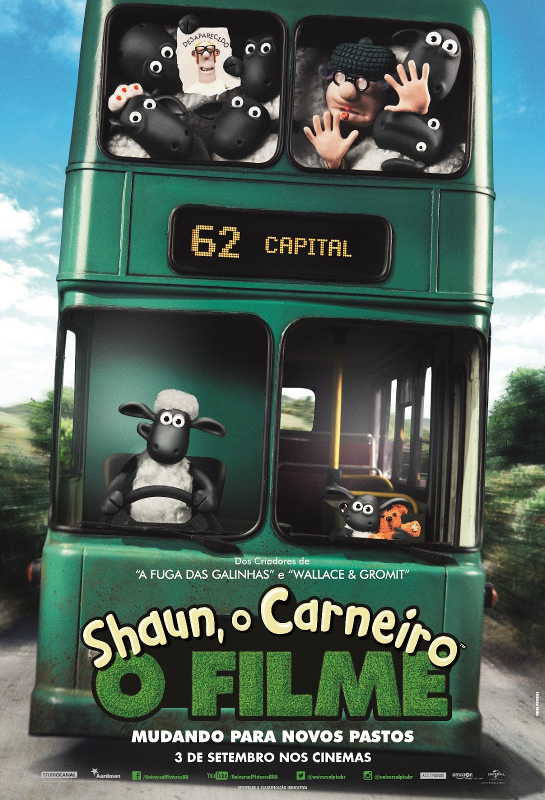 Shaun: O Carneiro – Filme – HD 720p