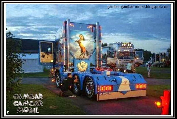 foto mobil truck keren