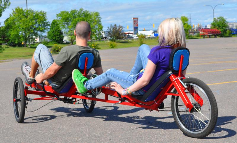 Tandem Recumbent Trike Plans Viking Recumbent Tandem Trike