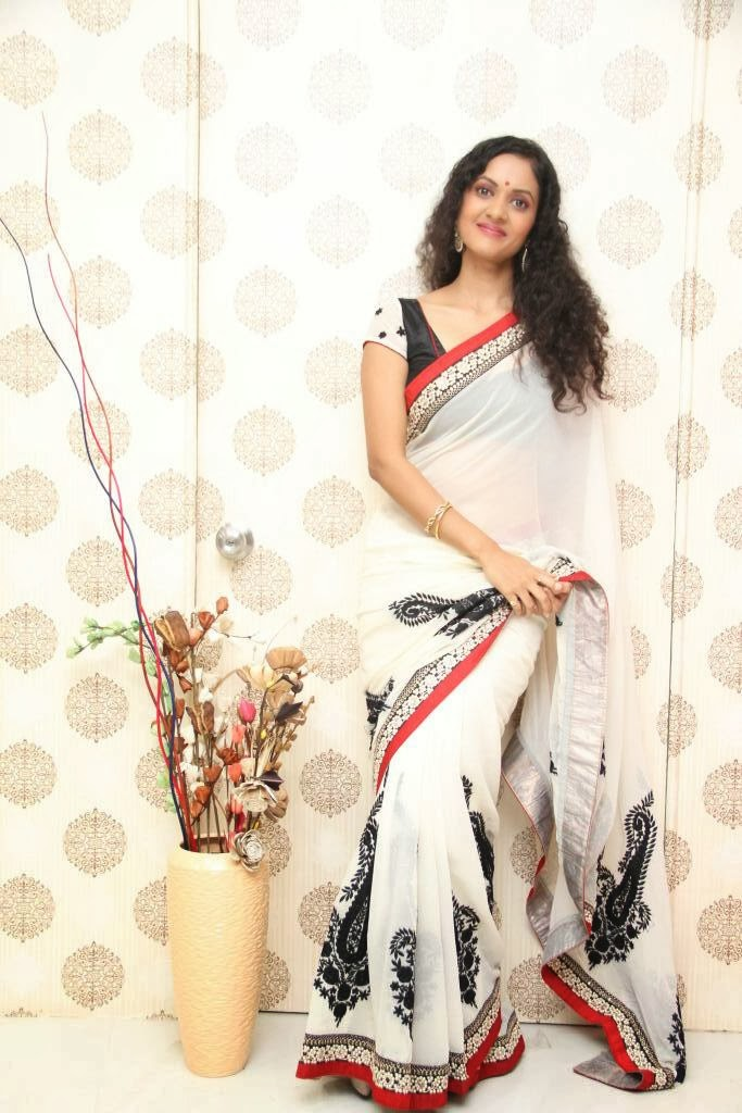 Homely Indian Housewife in Saree