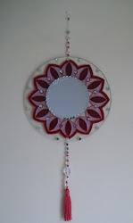 Mandala com espelho central