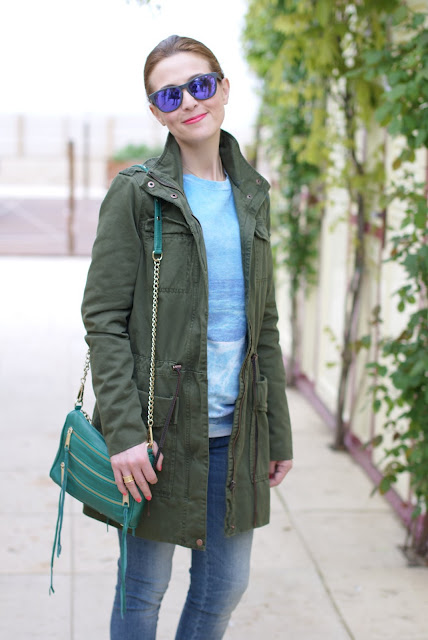 Zara Parka, Rebecca Minkoff bag, Fashion and Cookies