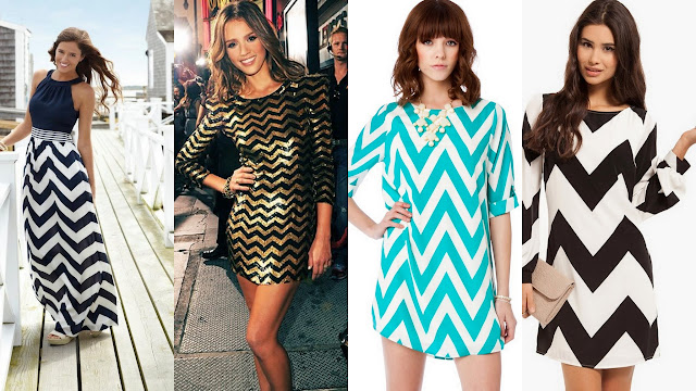 how to style chevron